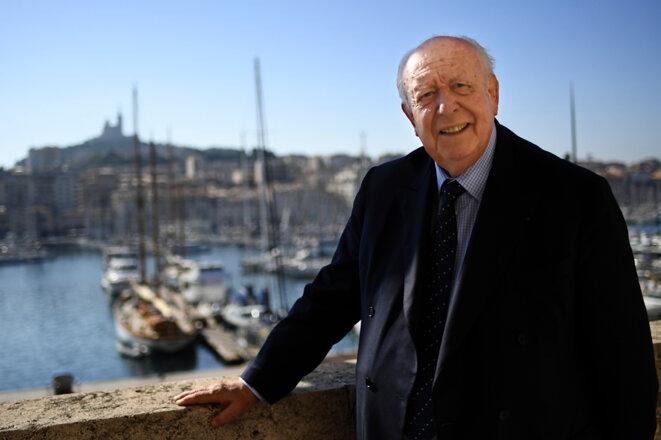Jean-Claude Gaudin, maire de Marseille © Pierre Reynaud