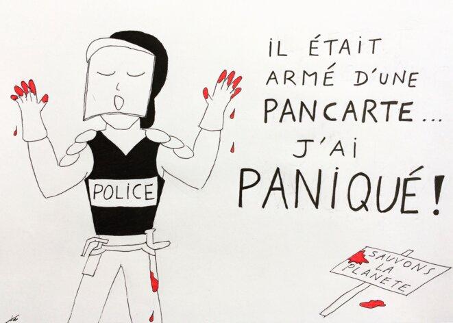 L'illégitime violence bientôt pardonnée par la loi à qui plaidera la panique ? © Y-E.S