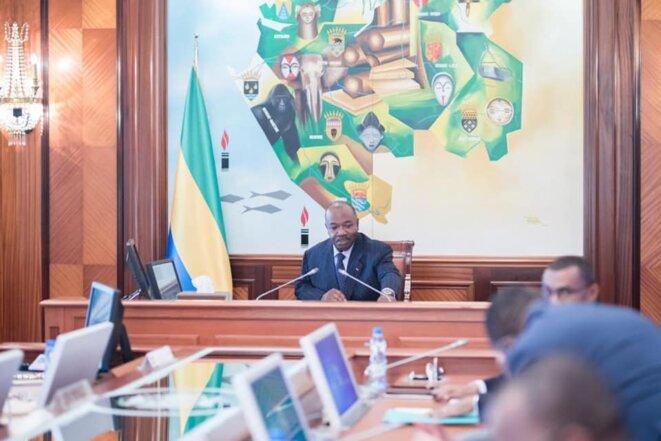 Conseil des Ministres © Facebook Présidence de la République Gabonaise