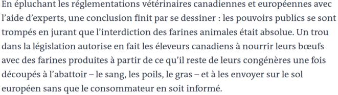 https://www.lemonde.fr/les-decodeurs/article/2019/07/22/farines-animales-et-ceta-comment-le-gouvernement-a-t-il-pu-se-tromper_5492248_4355770.html
