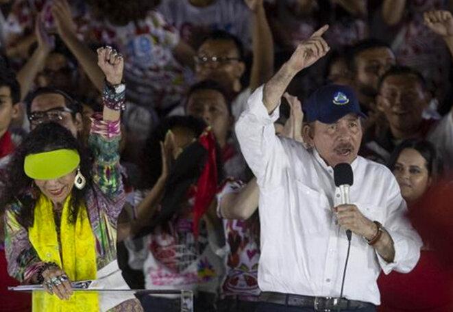 Rosario Murillo et Daniel Ortega: le binôme dictatorial utilise «l'anniversaire» de la révolution sandiniste © A l'encontre