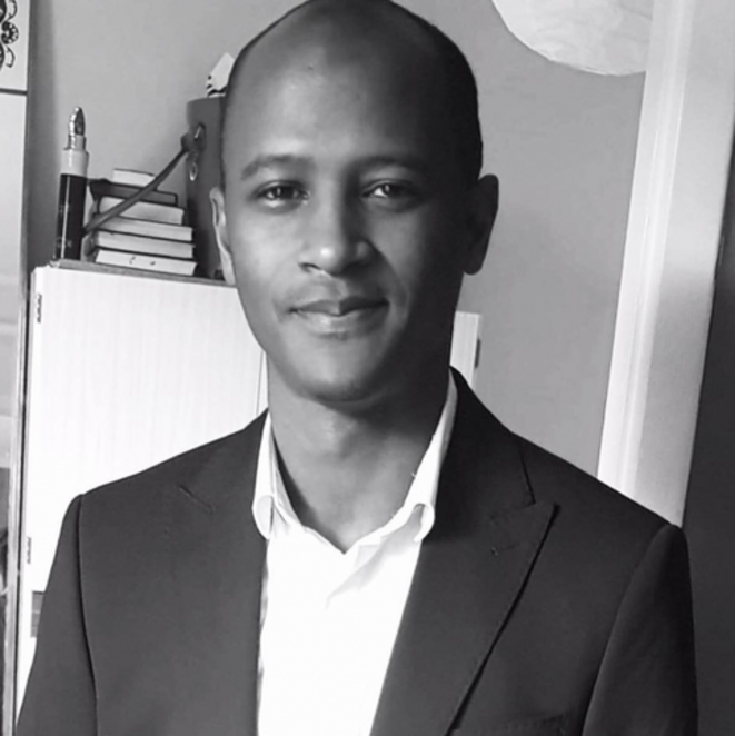 Mamoudou Barry, enseignant-chercheur à l'université de Rouen Normandie (profil Facebook).