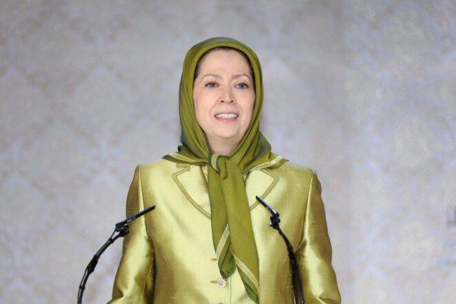 Maryam Radjavi, présidente élue de la Résistance iranienne