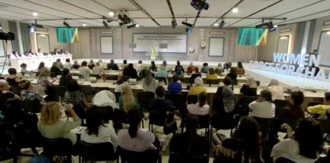 Conférence internationale sur les femmes iraniennes à Achraf-3 en Albanie