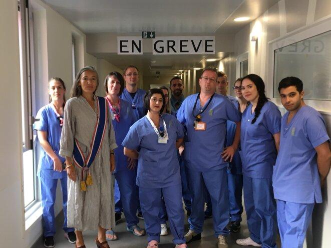 Service des urgences de l'hôpital de Melun, lundi 8 juillet 2019 9h00
