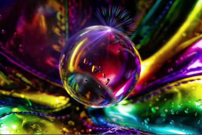 Bubble of life © Luna TMG
