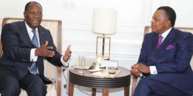 Sassou et Ouattara
