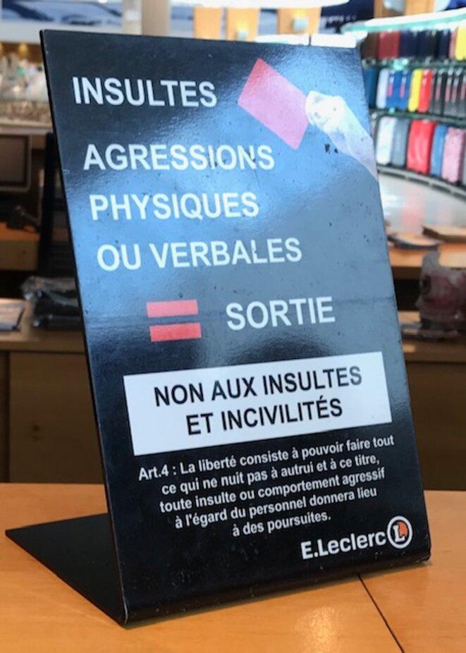Panneau Leclerc