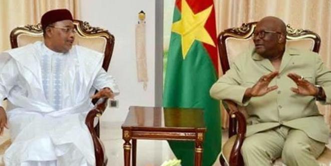 Mahamadou Issoufou & Roch Christian Kaboré