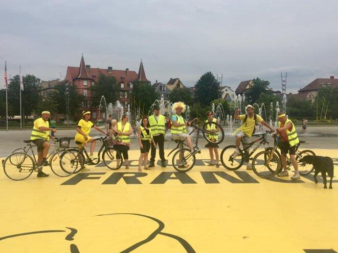 Colmar, le 10 juillet © Media jaune Colmar