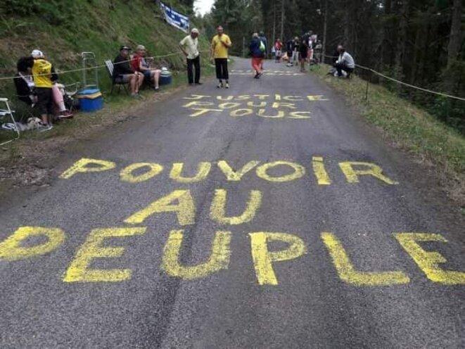 Le 11 juillet en Haute-Saône © GJ Lure 70