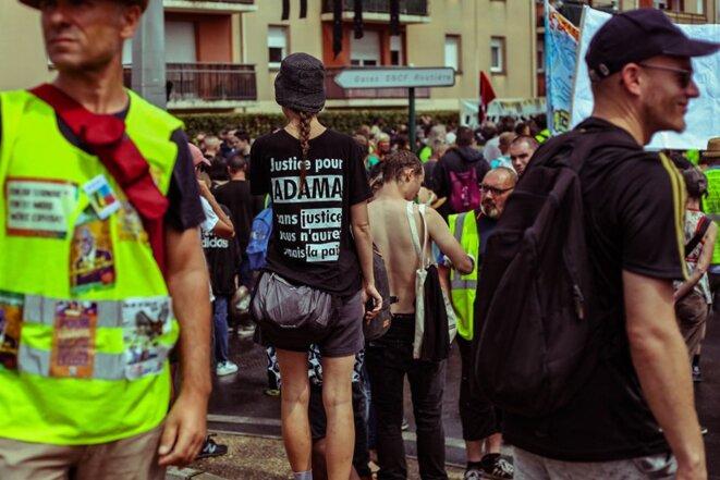 Le 20 juillet, marche pour Adama à Beaumont-sur-Oise © O Phil des contrastes