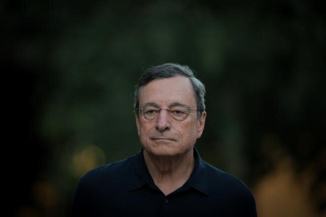 Mario Draghi. © Reuters