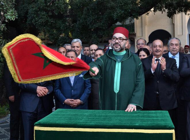 Le Roi Mohammed VI lance les travaux du musée de la culture juive à Fés