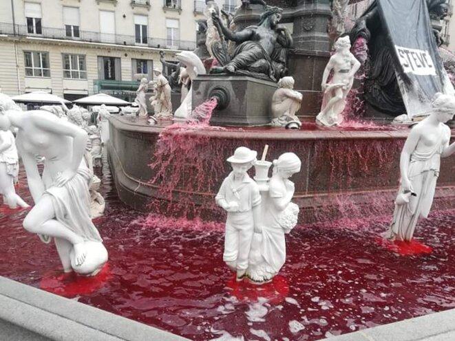 Place royale, aujourd'hui, à Nantes