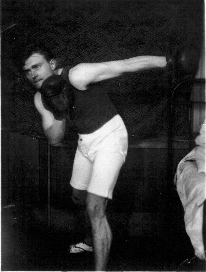 Jean Prévost boxeur, en 1926. © Amis de Jean Prévost