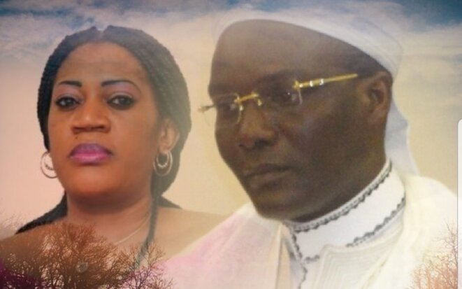 Liliane Ngari et son époux Ali Akbar Onanga