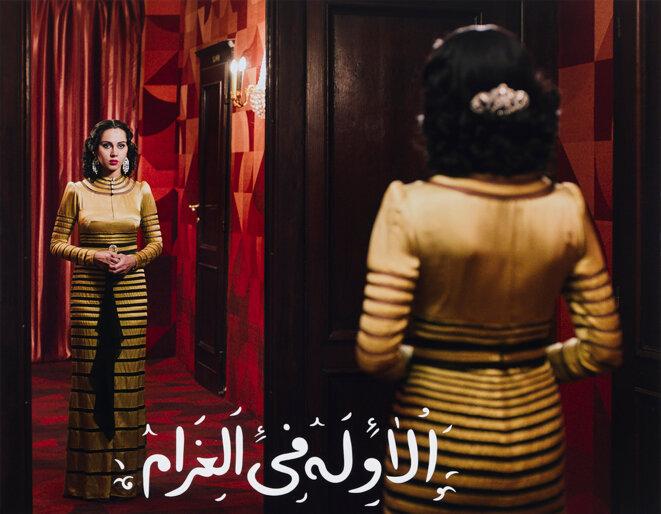 "Shirin Neshat, ""The first thing about love"" de la série ""Looking for Oum Kulthum"", 2018 © Shirin Neshat. Courtesy Noirmontartproduction, Paris"