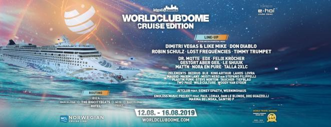 Line up complet © World Club Dome