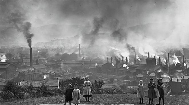 Saint-Etienne, la mine et l'acier, début XXème siècle © Félix Thiollier (début XXème siècle)