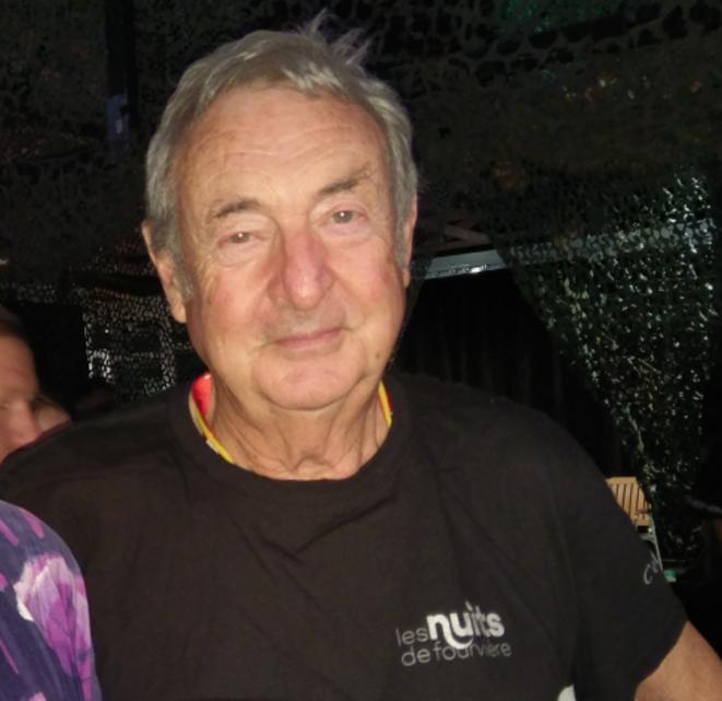 Nick Mason à Lyon le 21 juillet 2019 pendant l'aftershow © Favier