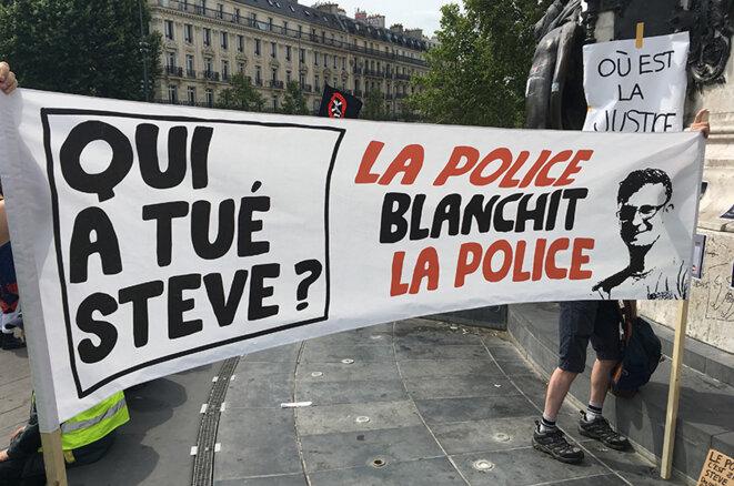 3 août 2019. Place de la République.Paris © AGB