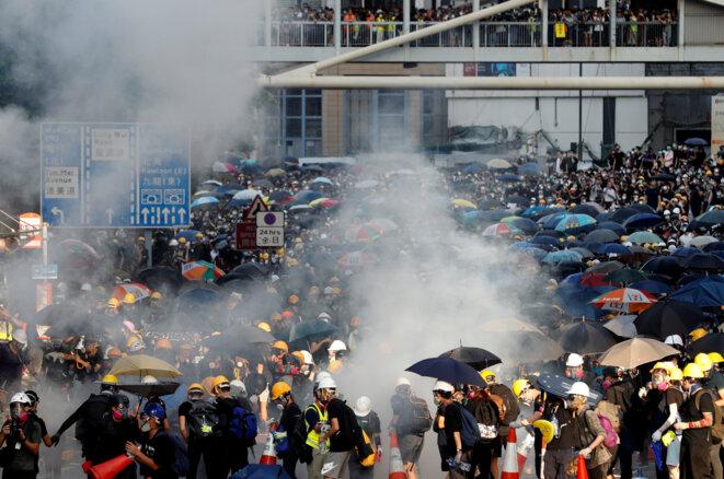 À Hong Kong, lundi 5 août 2019. © Reuters/Kim Kyung-hoon