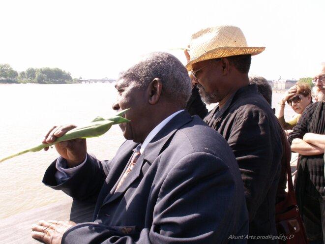 10 mai 2006 Bordeaux journée de commémoration de l'abolition de la traite des noirs et de l'esclavage