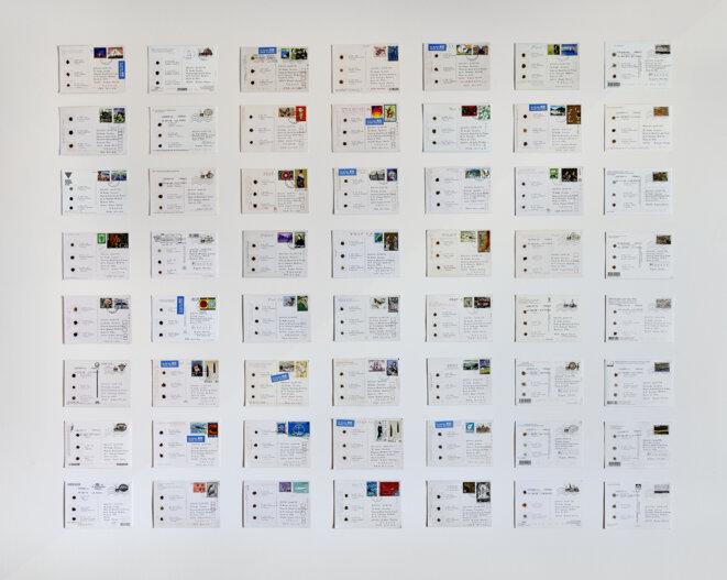 """Kôichi Kurita, , """"Les Terres, miroir du monde"""" à la Maison du Grand Site de France de la Camargue gardoise, 2019 © Laurent Lecat - CMN"""