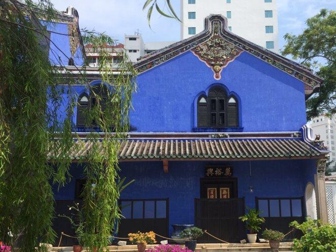 Blue Mansion, demeure d'un richissime Hakka... © Claude Hudelot