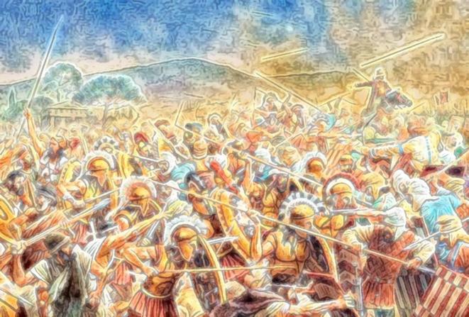 Guerres des hommes © FRANC SERRES