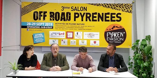 3° Salon OFF-ROAD Pyrénées, activités de PLEINE NATURE © activemaville.fr
