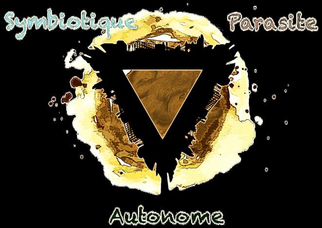 Triangle comportemental de la population humaine © FRANC SERRES