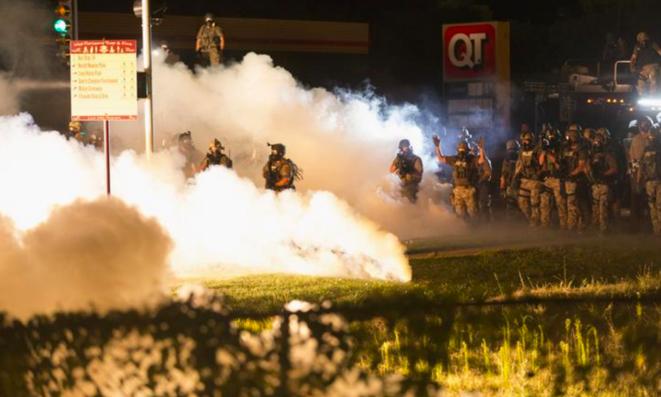 Ferguson, le 13 août 2014. © Reuters