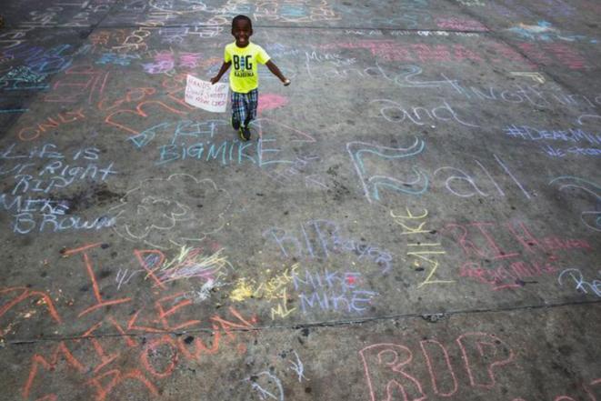 Ferguson, le 15 août 2014. © Reuters