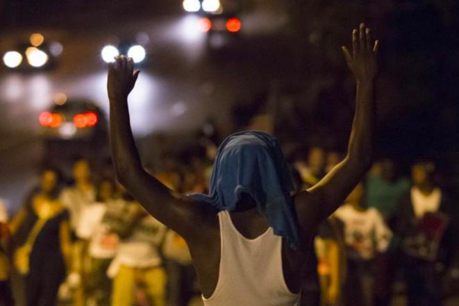 Ferguson, le 22 août 2014. © Reuters