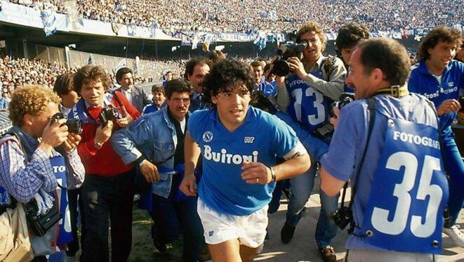 Diego Maradona, une légende napolitaine