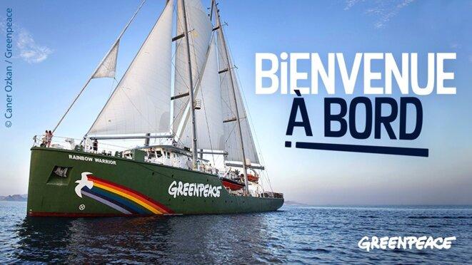Le Rainbow Warrior © Greenpeace