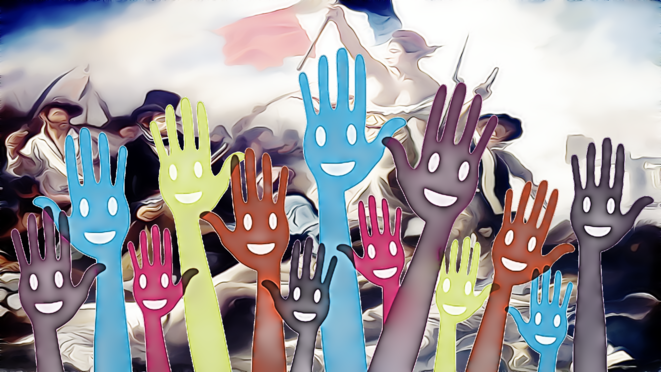 La démocratie © Franc SERRES