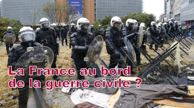 La guerre civile est engagée © Pierre Reynaud