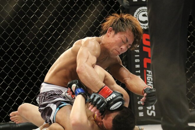 Combat de MMA au Japon (photo libre de droit) © Wallpaper Flare