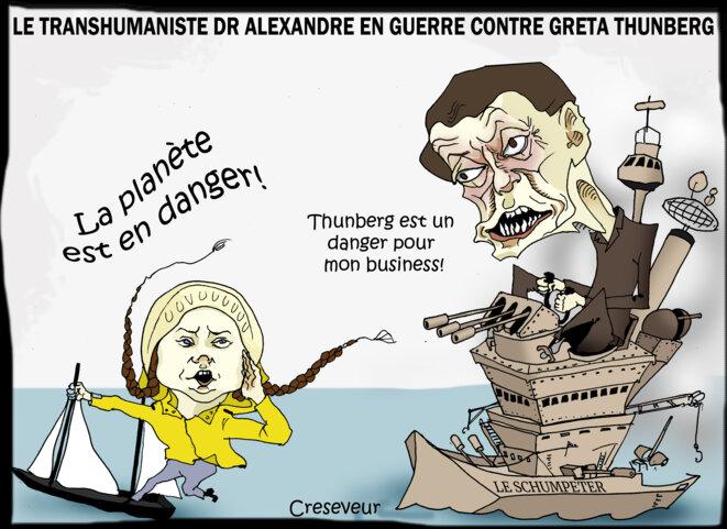 laurent-alexandre-jure-la-perte-de-greta-thunberg