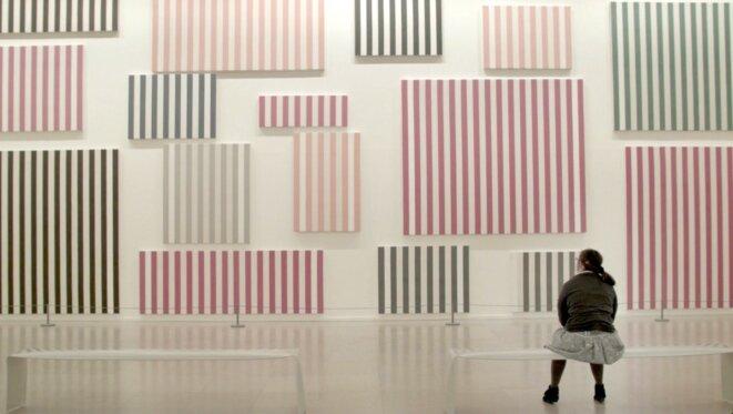 """Extrait de """"La Visite – Le Musée d'art moderne"""". © Laetitia Carton"""
