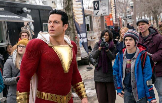 """Shazam !"" de David F. Sandberg © Warner Bros."