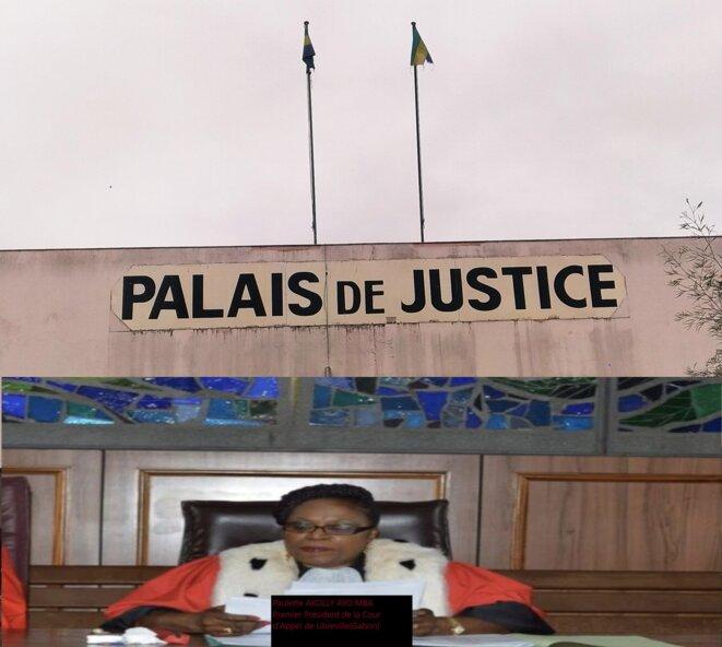 Mme Paulette AKOLLY AYO MBA, premier président Cour d'Appel de Libreville