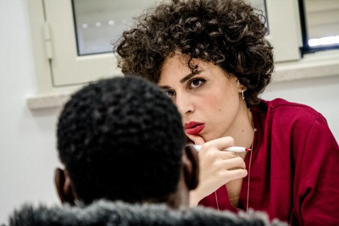 La légiste Antonietta Lanzarone en consultation © Max Hirzel / Haytham