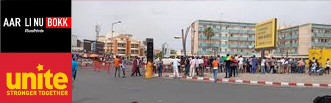 Rassemblement de Aar Li Ñu Bokk à Dakar