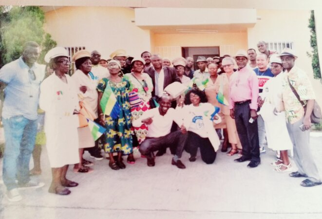 17 Août 2019 - Lancement des activités du MRC - Avec les 22 Auxiliaires de Commandement ( Chefs de quartier) du 1er Arrondissement de la Commune de Libreville.