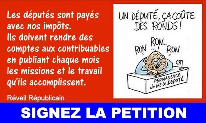 Charte de moralisation pour les députés © Pierre Reynaud