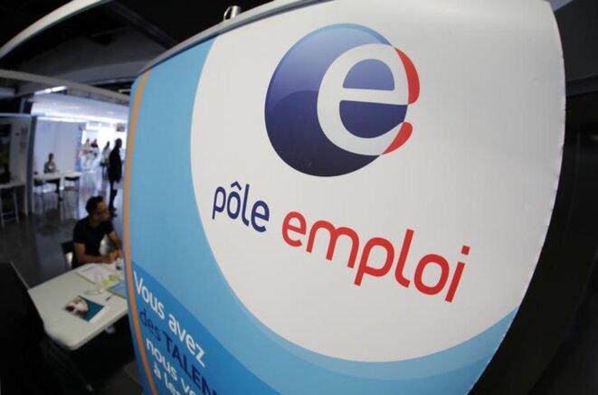 Une agence de Pôle emploi, à Nice, le 28 mars 2019. © Reuters